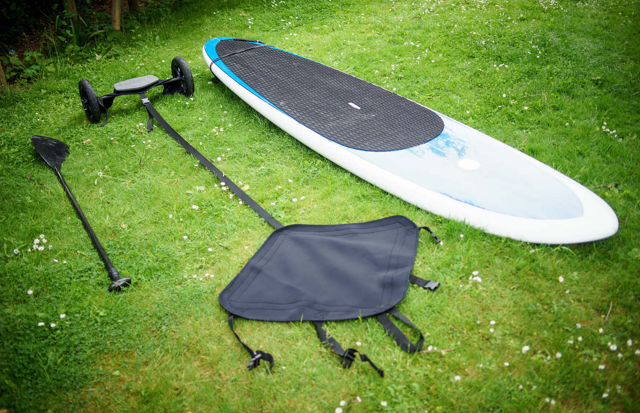 Shore Ride Surfboard Towing Carrier