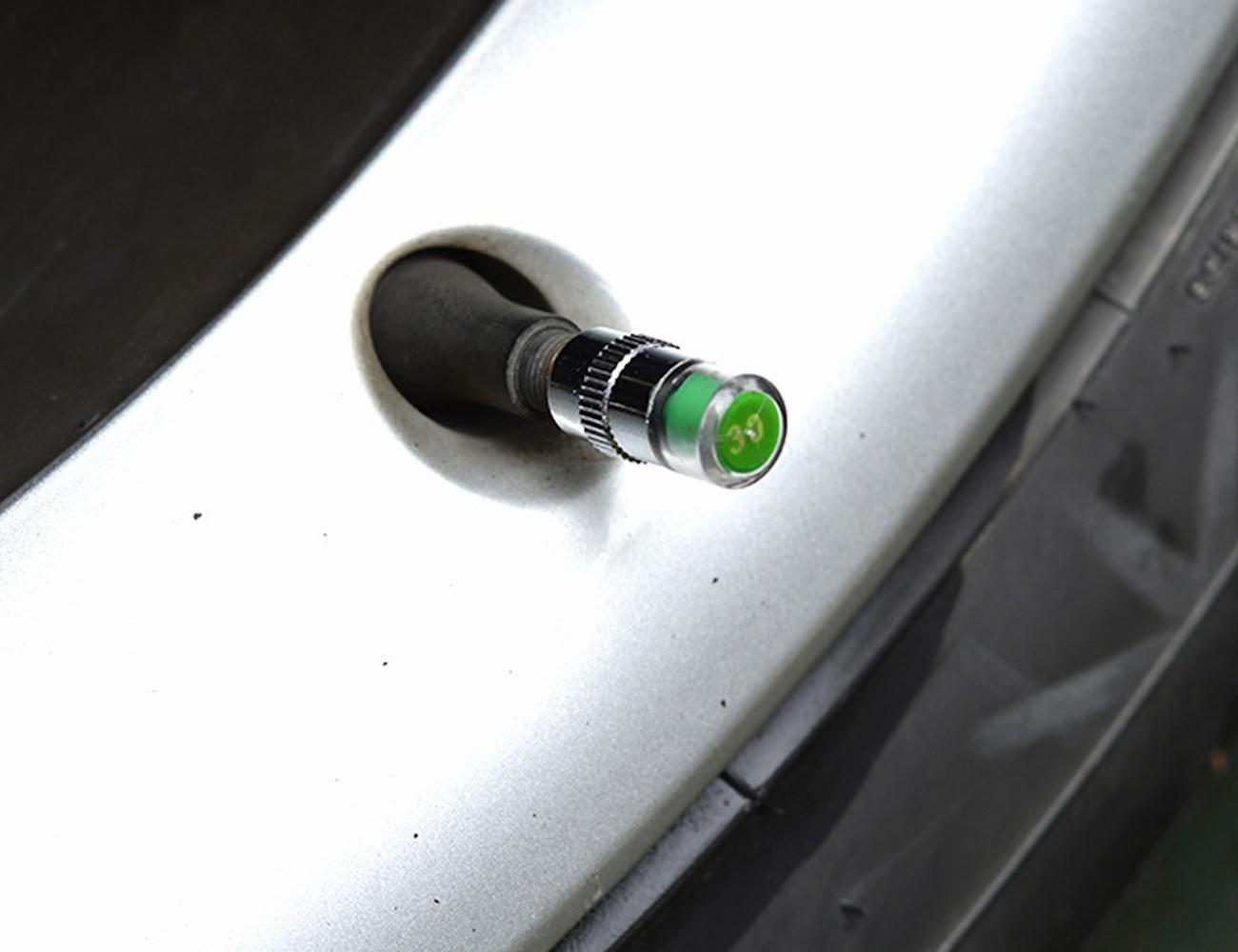 Smart Valve Tire Pressure Caps