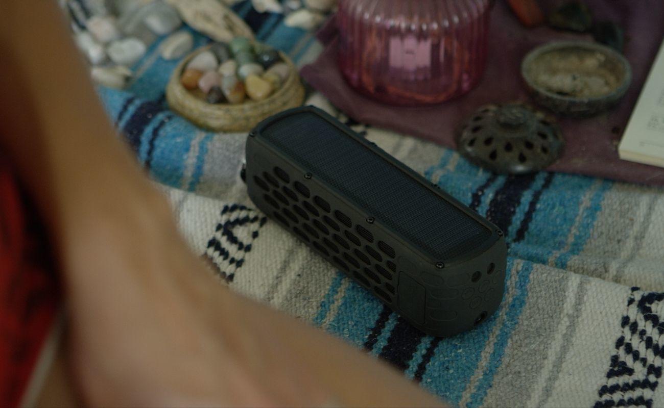 Solar Box Waterproof Portable Solar Speaker