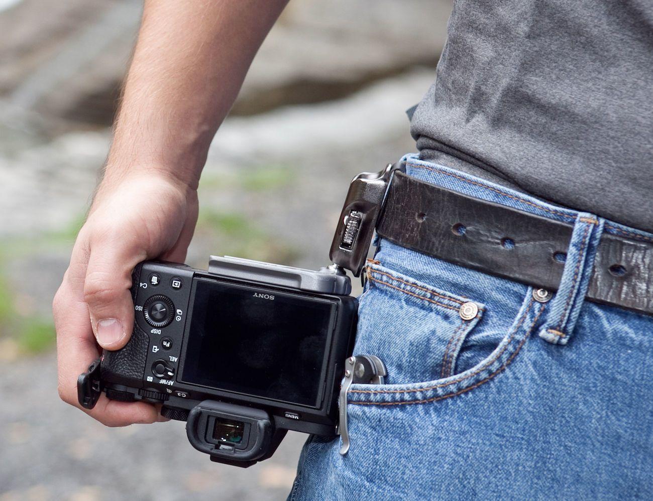 SpiderLight Belt Camera Holster