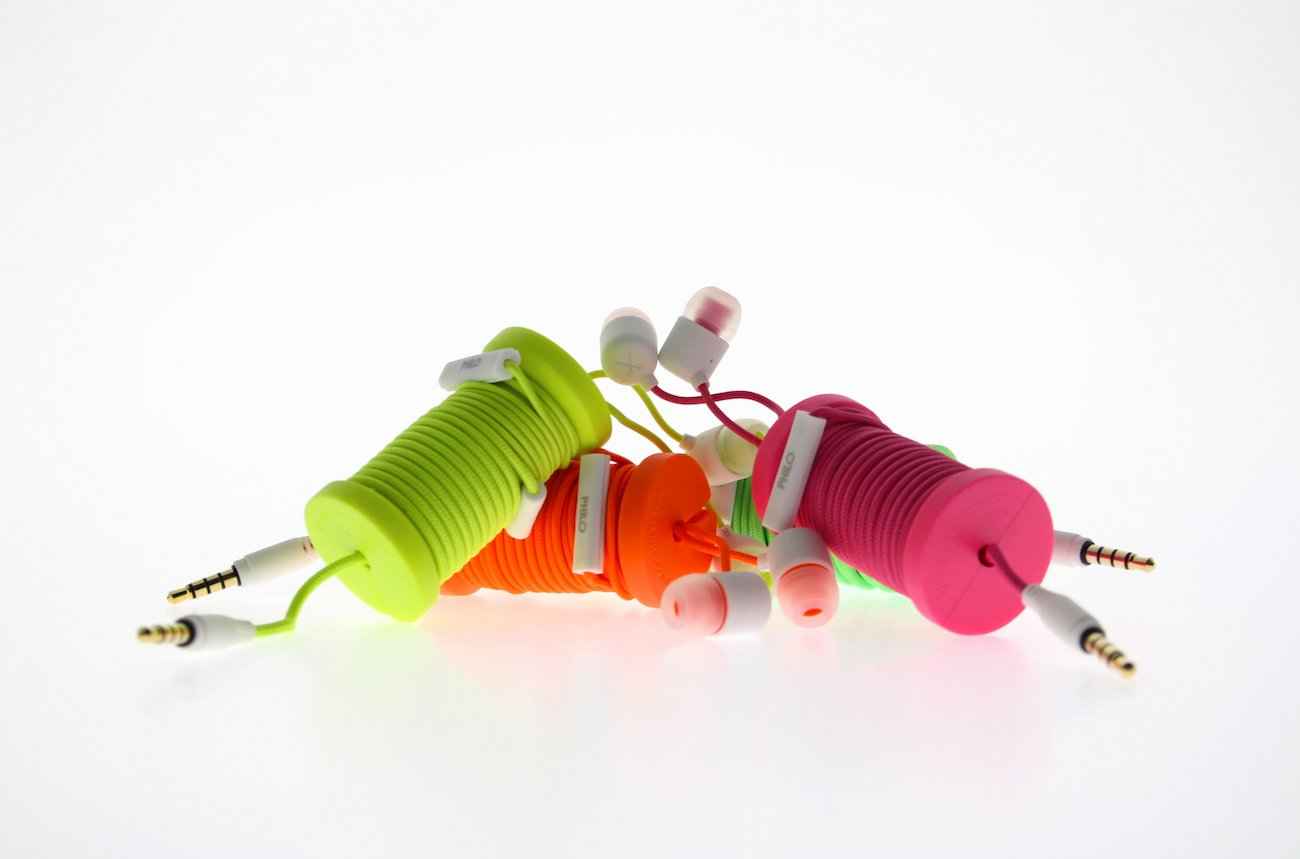 Spool Cable Organizing Earphones