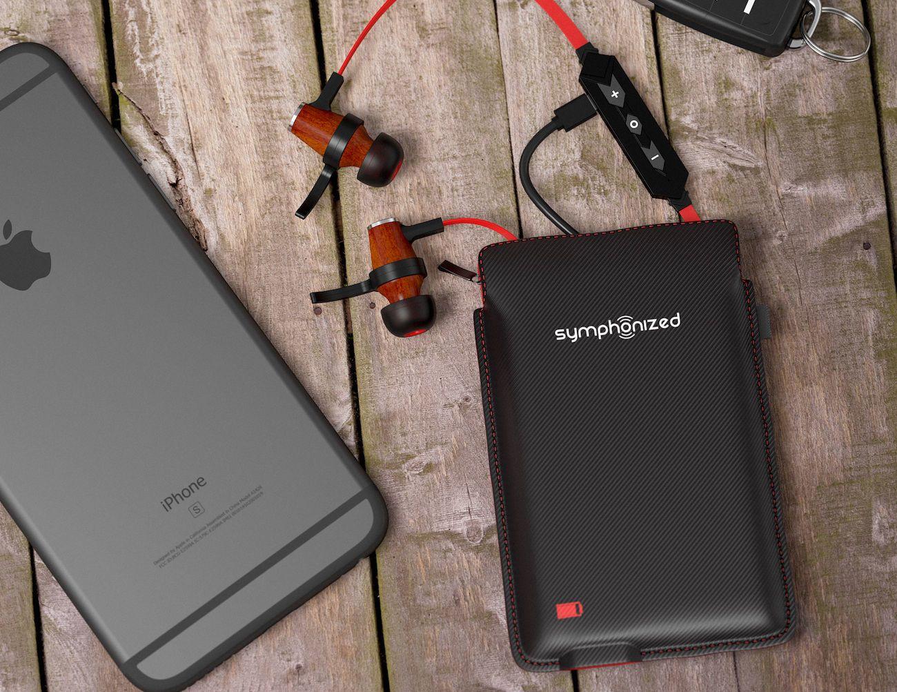 Symphonized Bluetooth Headphone Charging Case