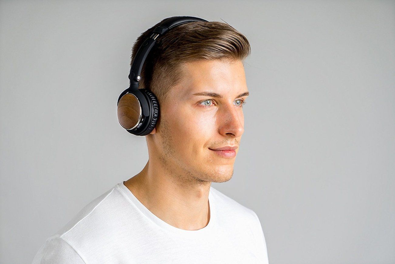 Symphonized Sensation Premium Wood Headphones