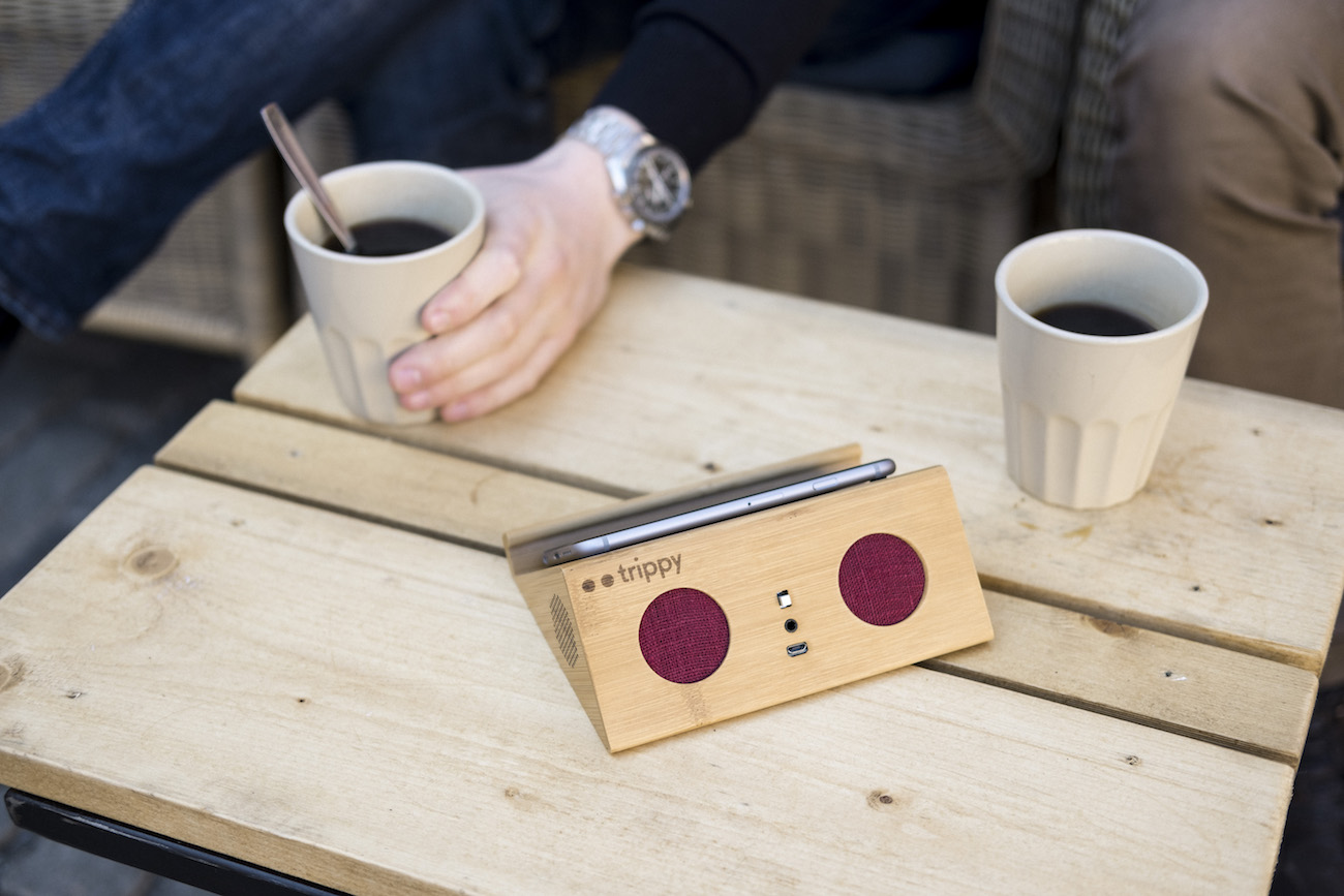 Trippy Auto-connecting Wireless Speaker