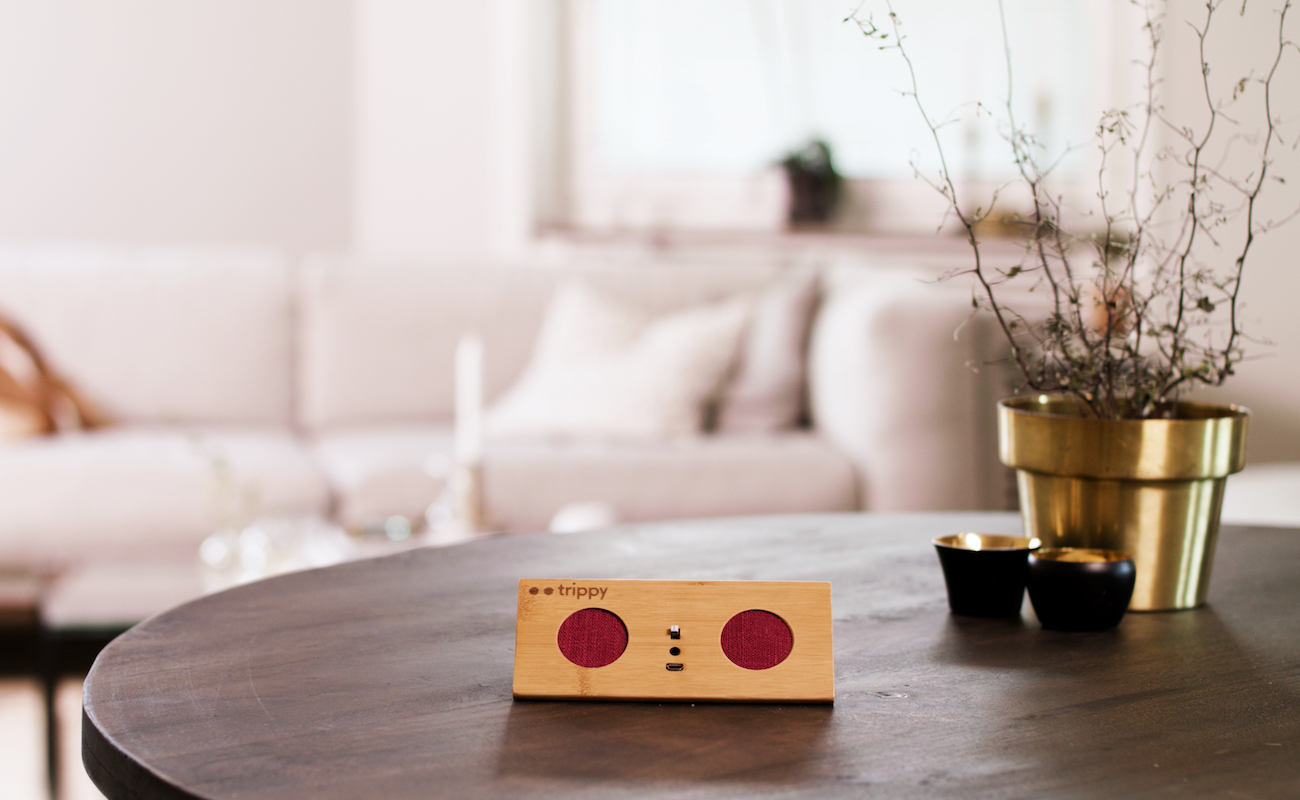 Trippy Auto-connecting Wireless Speaker
