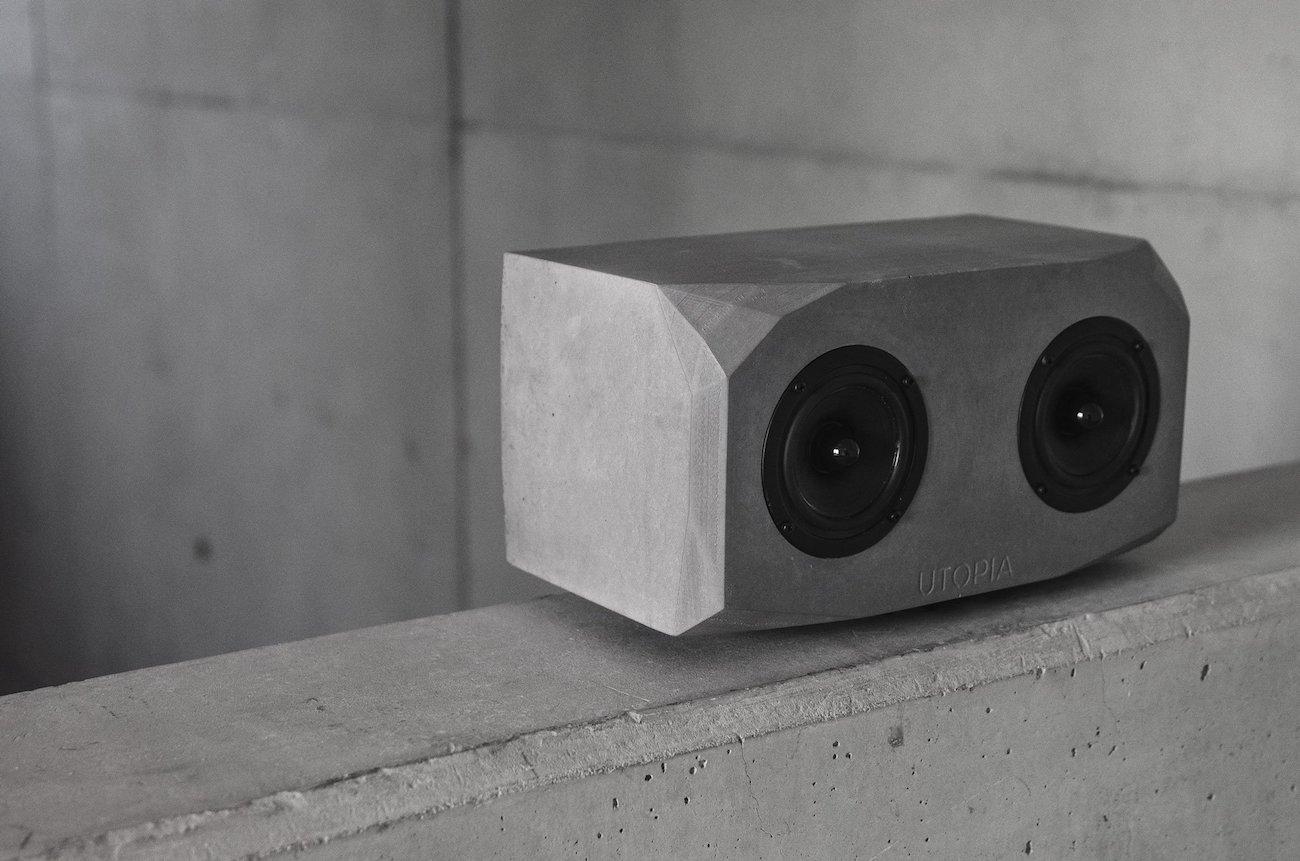 Utopia Titan Handmade Concrete Speaker