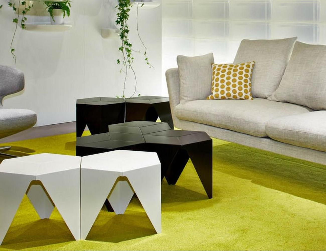 vitra prismatic geometric side table gadget flow. Black Bedroom Furniture Sets. Home Design Ideas