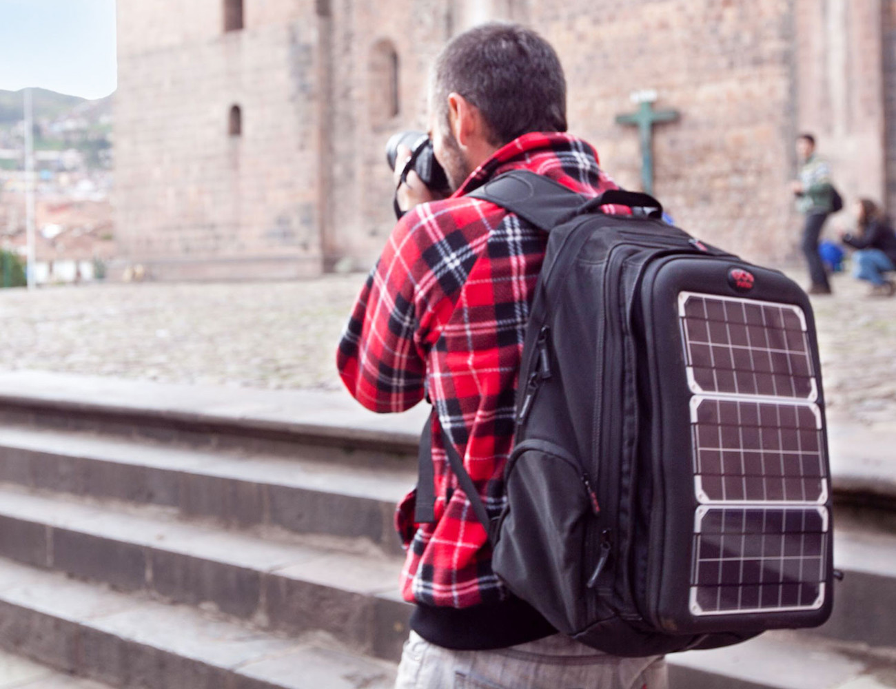Voltaic Array Solar Charging Backpack