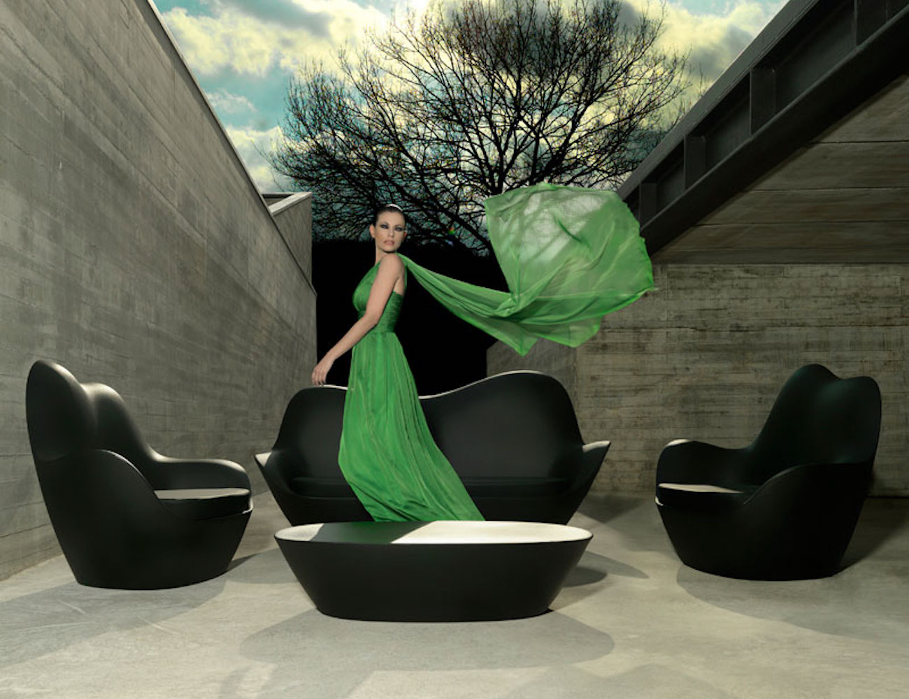Vondom Sabinas Indoor/Outdoor Sofa