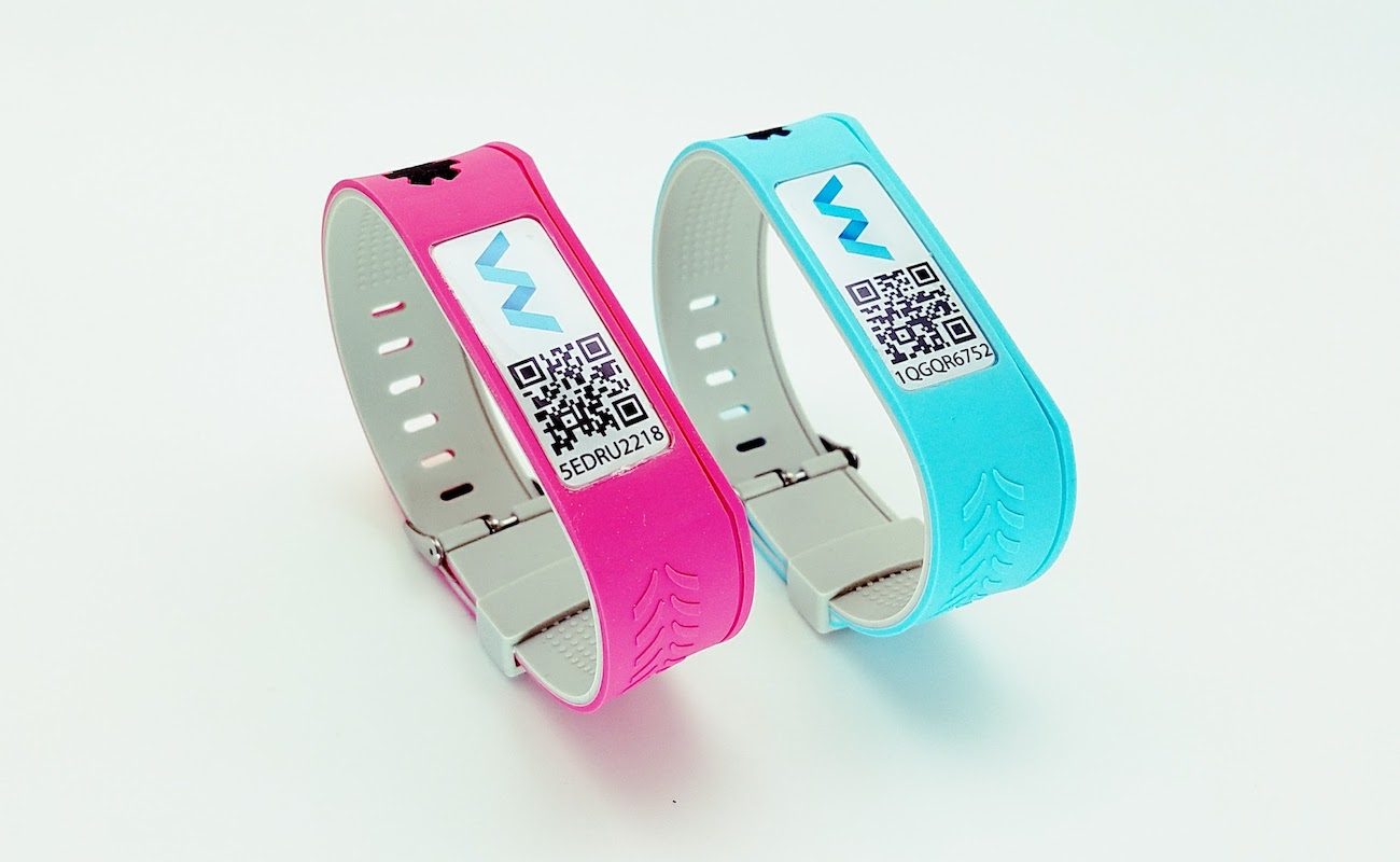 WRIXO Connected Medical ID Wristband