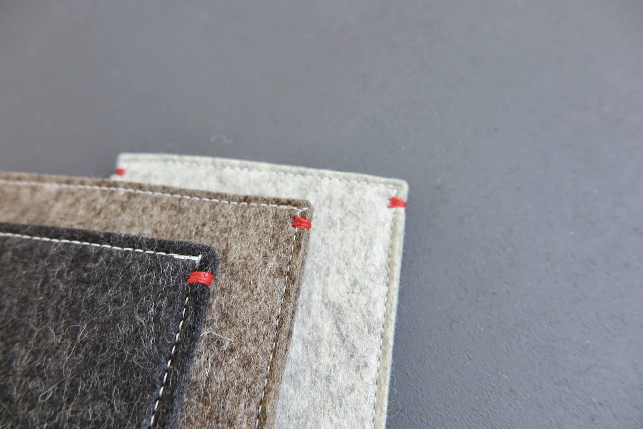 Westerman Wool Felt iPad Pro Sleeve