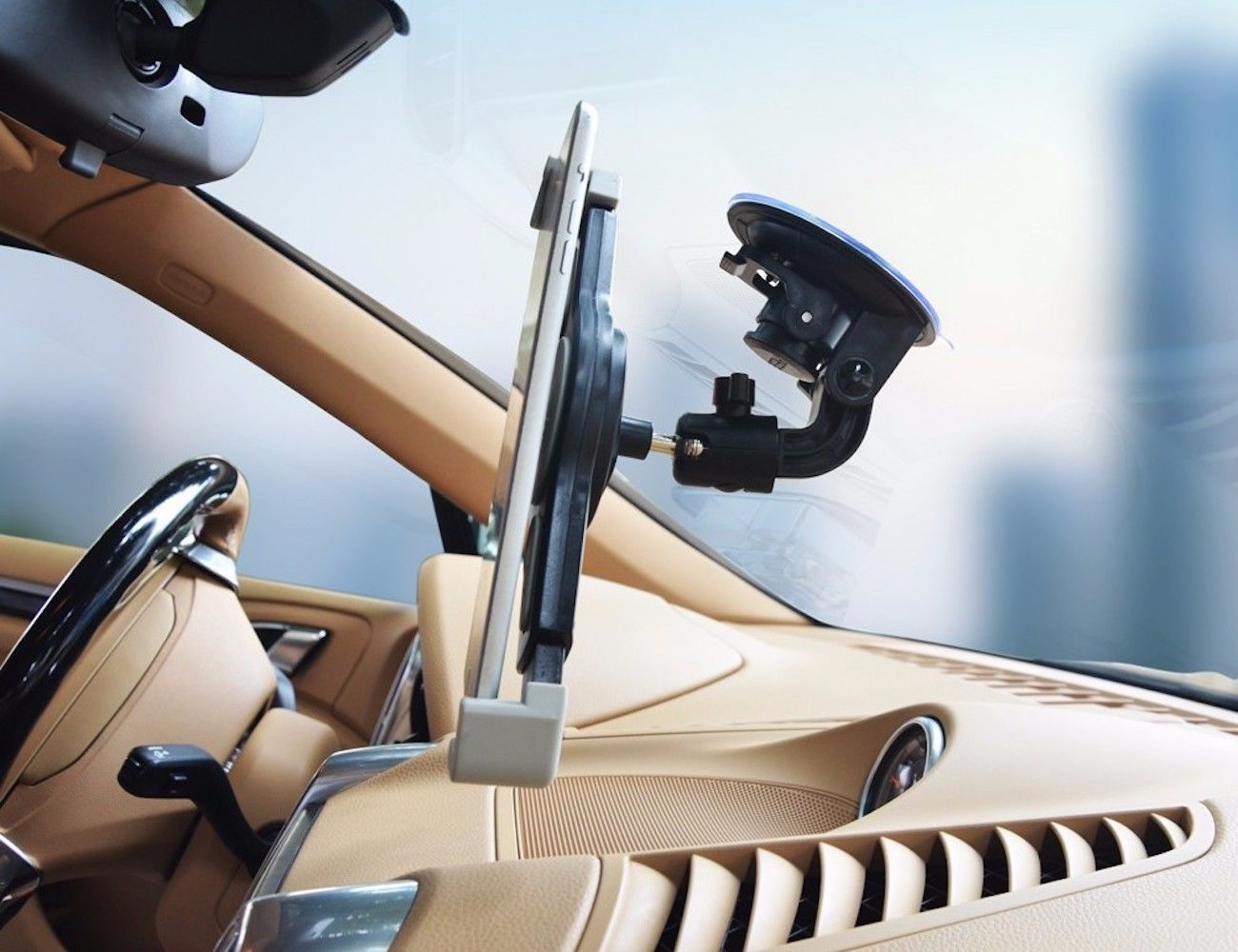 Windshield Tablet Mount for Cars