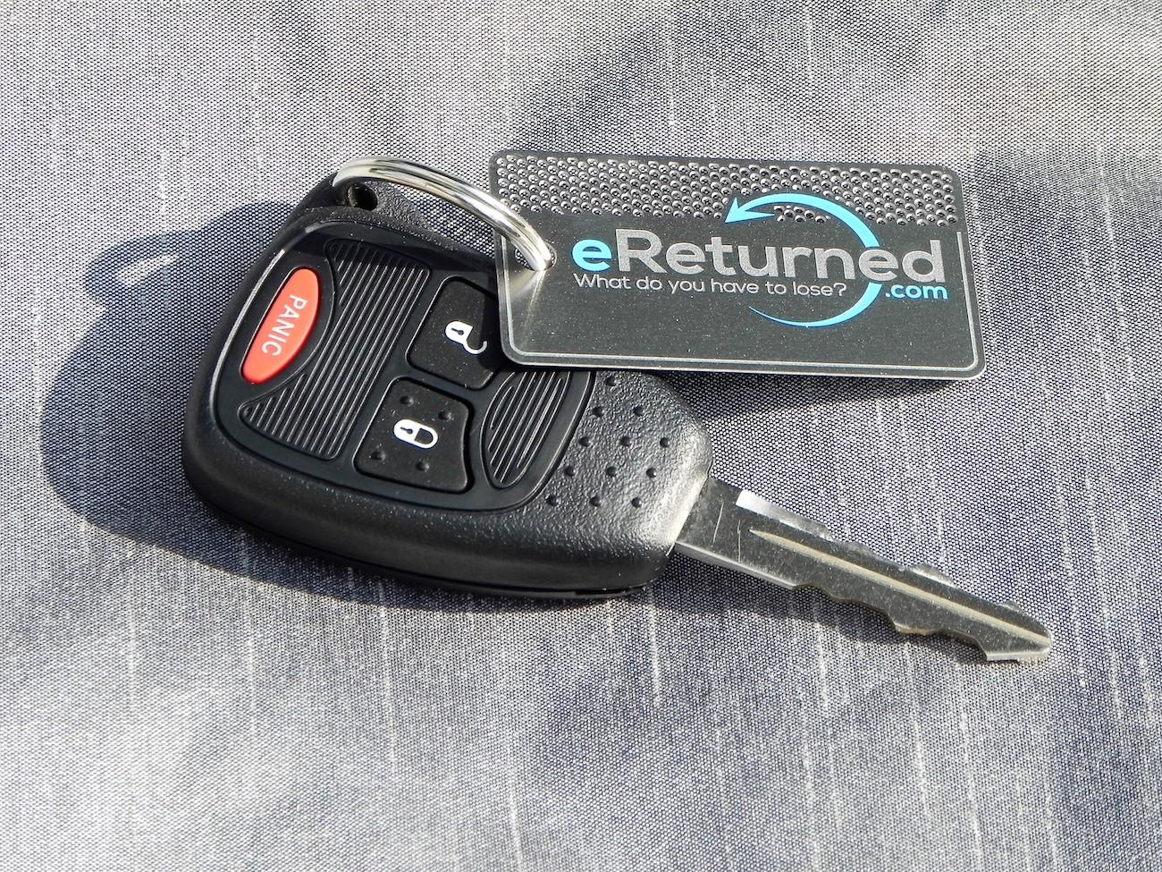 eReturned Identifying Key Tag
