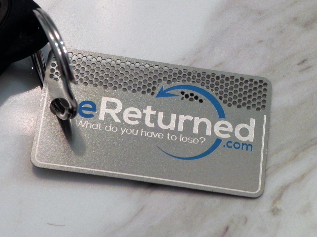 eReturned Identifying Key Tag
