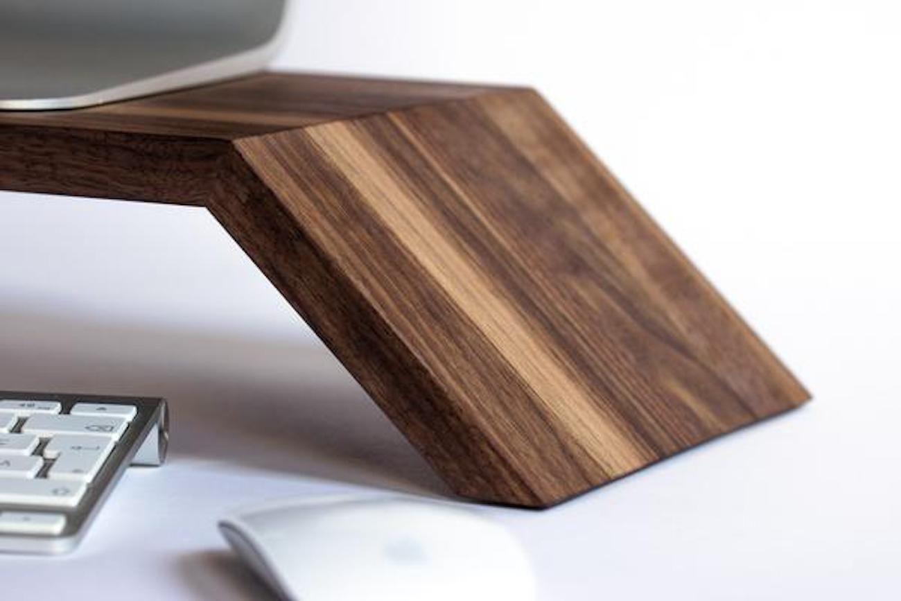 ergonofis Ergonomic Wood Monitor Stand