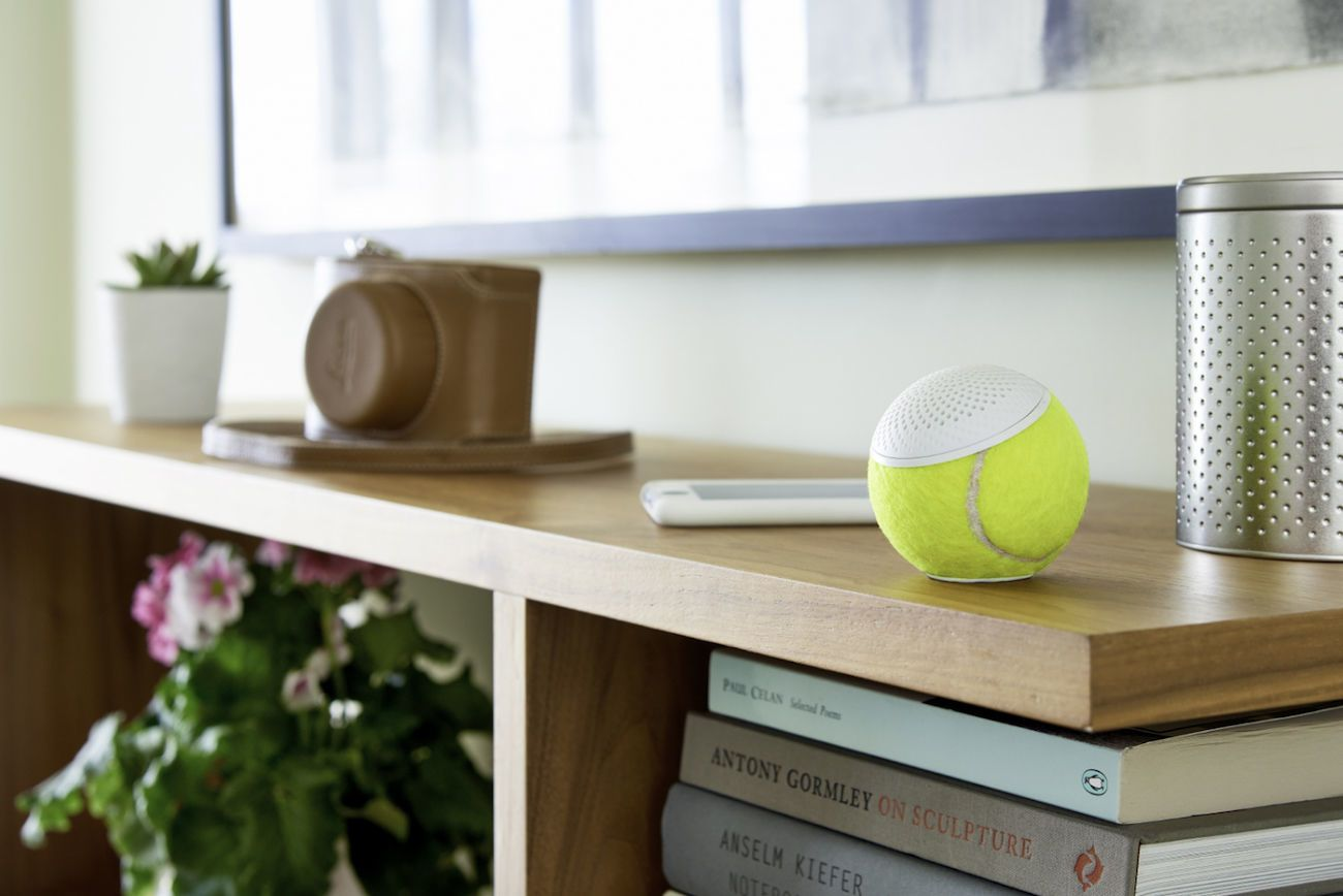 hearO Wimbledon Tennis Ball Speaker