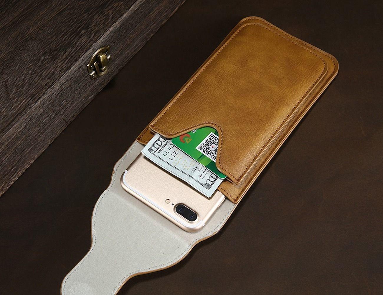 iPhone Flip Wallet Case