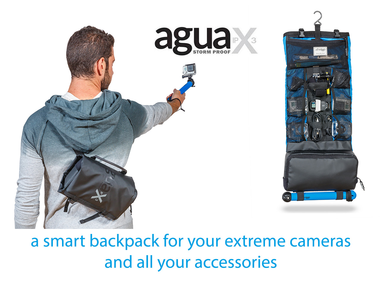 miggo Agua Storm-proof Action Pack 55