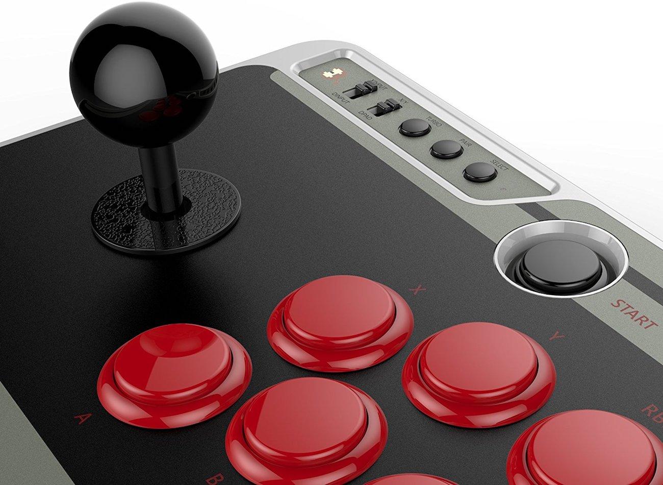 8Bitdo NES30 Arcade Stick Controller » Gadget Flow