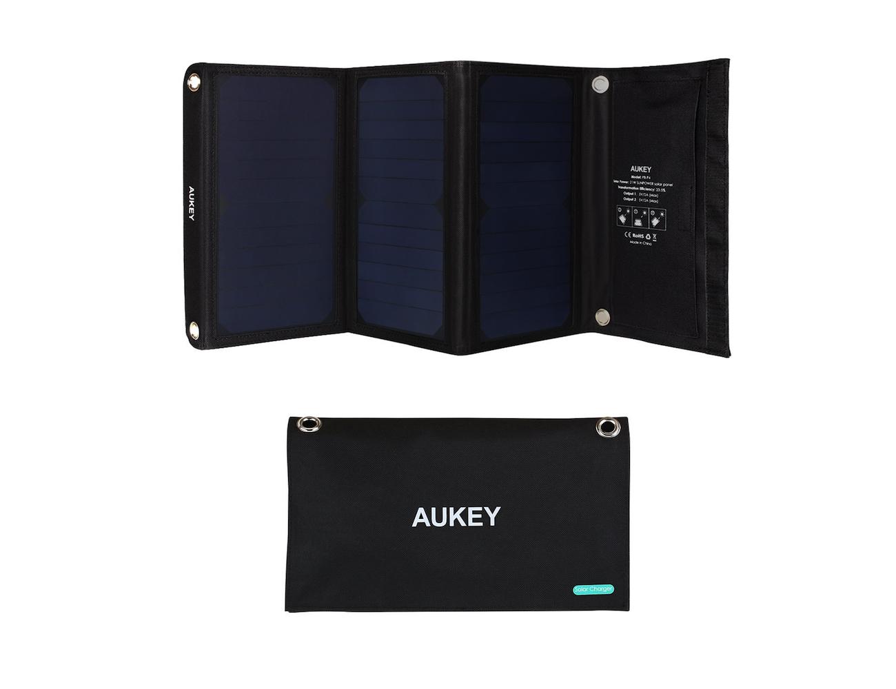 AUKEY SunPower Solar Panel Charger