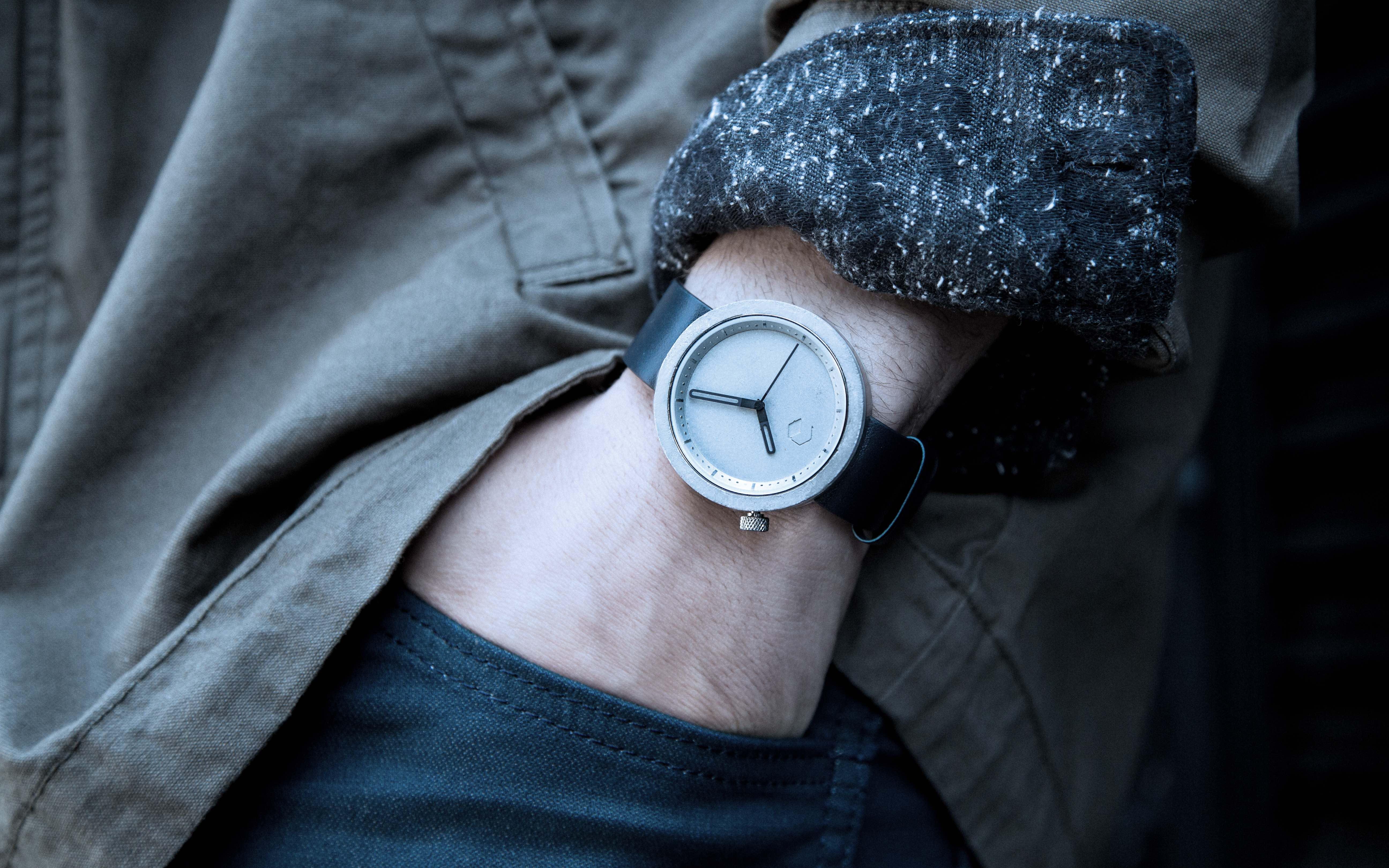 Masonic Concrete Design Watch