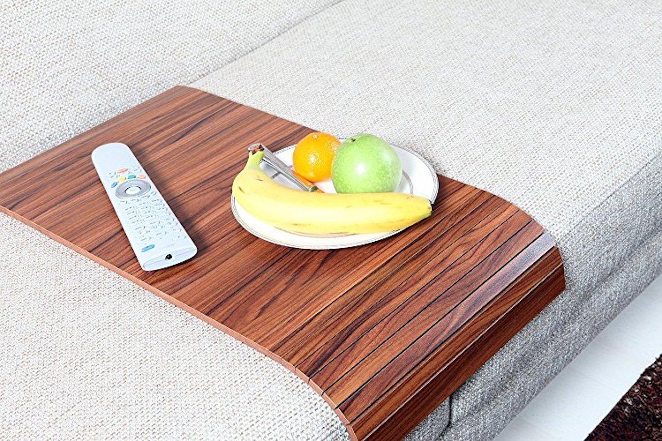 AnatolianWoods Wooden Sofa Tray Table