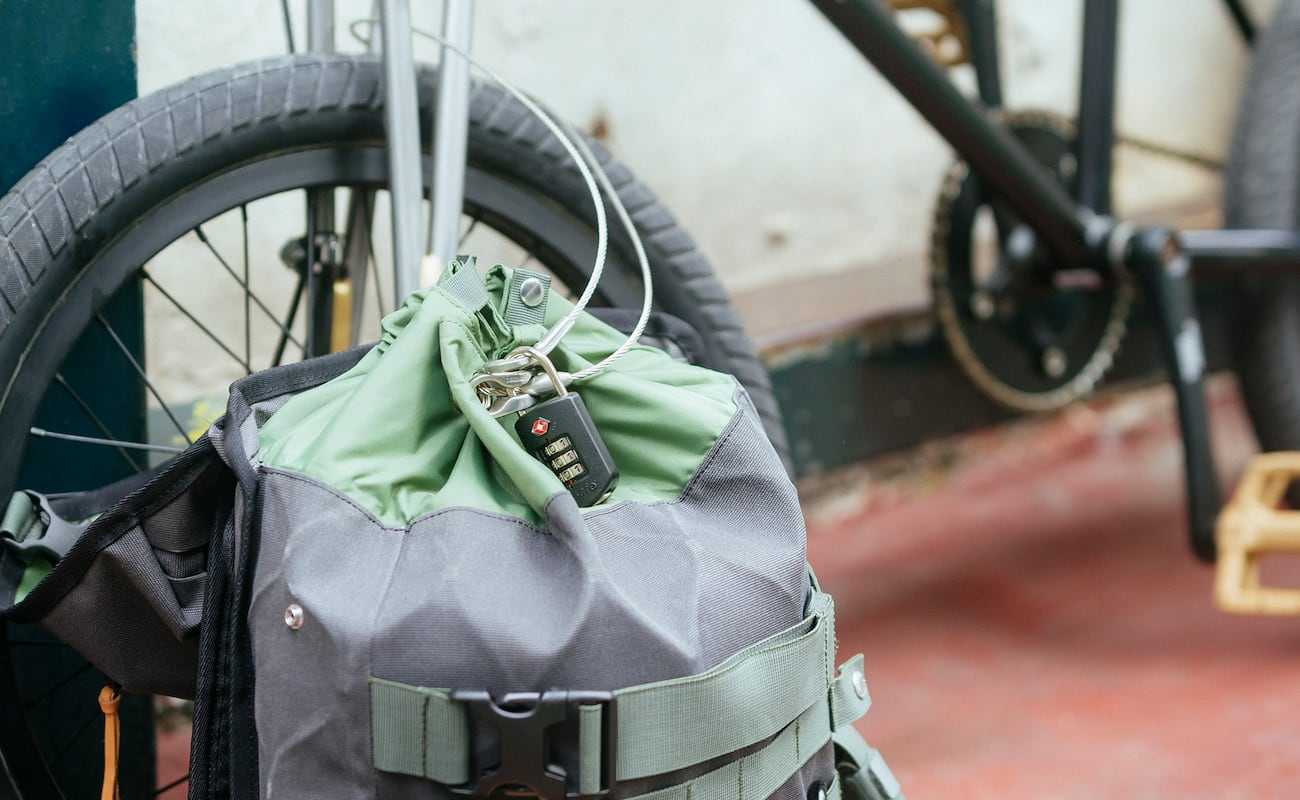 Angry Lane Anti-Theft Riding Bags