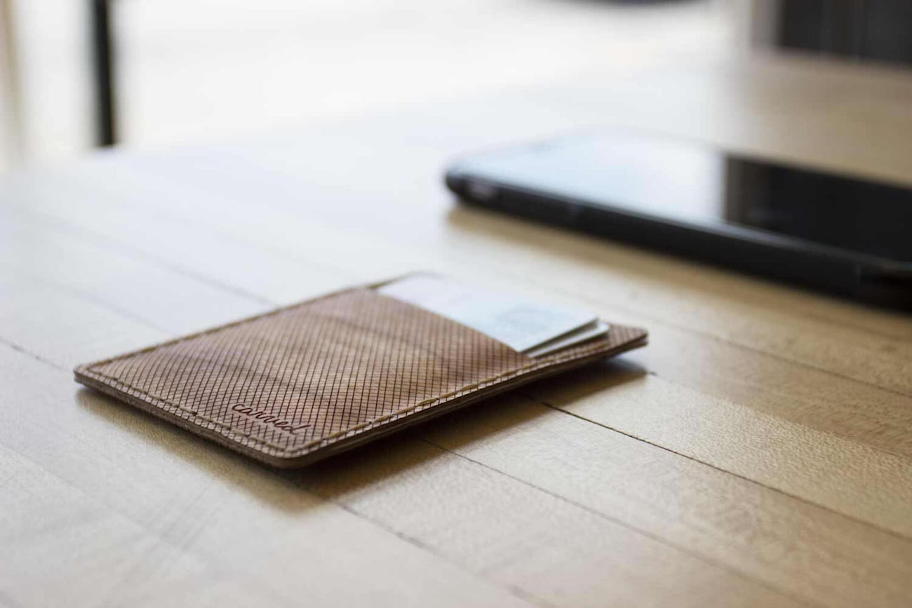 Arbor Flexible Wood Wallet
