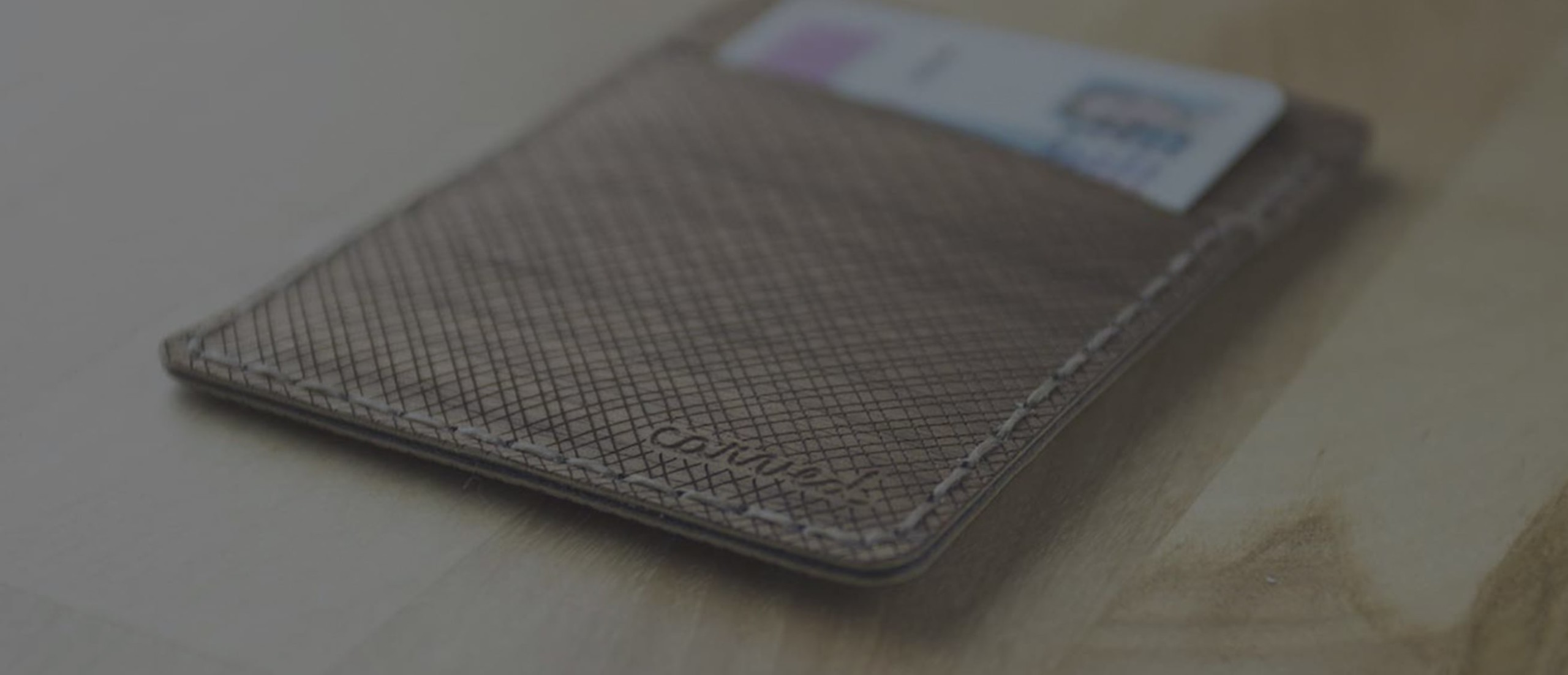 Arbor Flexible Wood Wallet