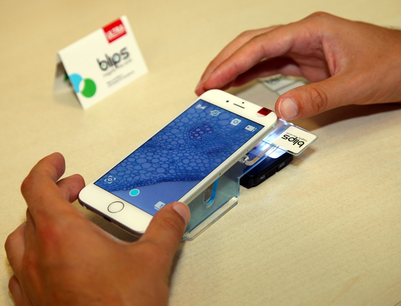 BLIPS Ultra-Thin Smartphone Microscopy Lenses