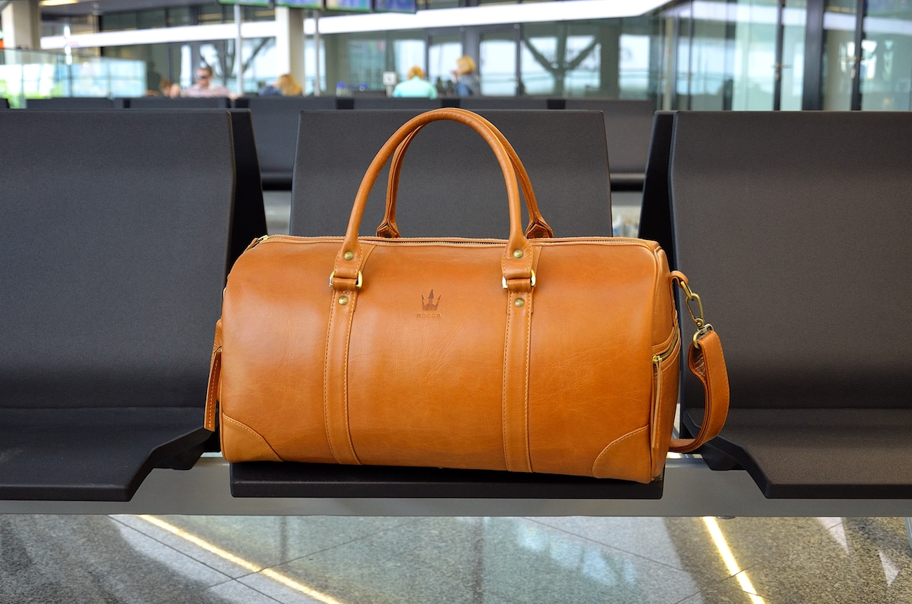 97aa3a54f BOCCA Handmade Leather Duffel Bag » Gadget Flow