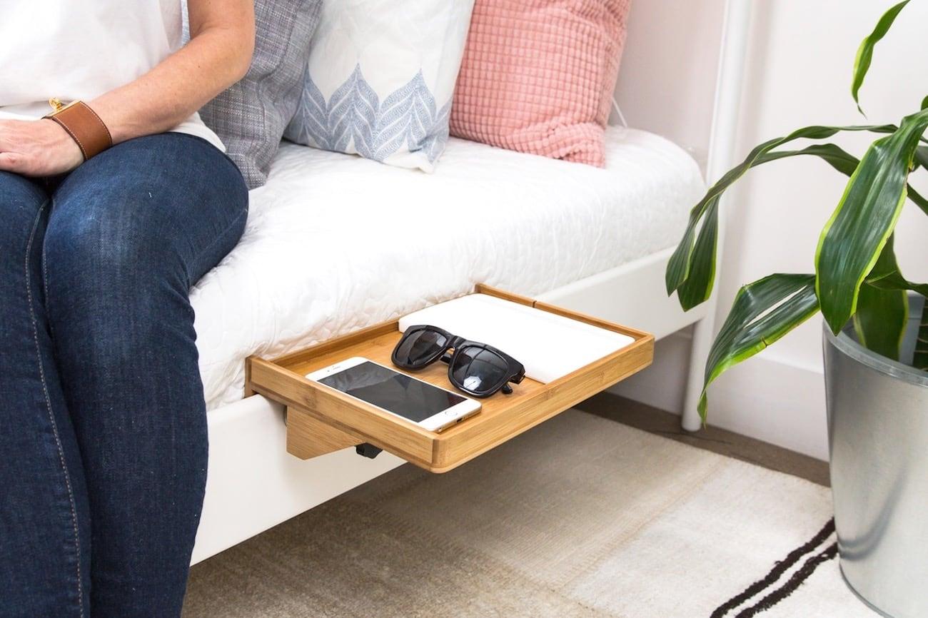 BedShelfie Minimalist Bed Nightstand