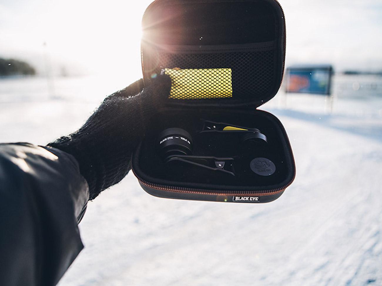 Black Eye Pro Kit Smartphone Lens Clips