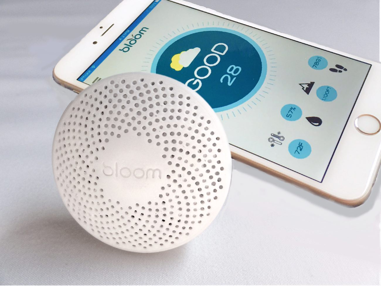 Bloom Portable Personal Air Quality Monitor