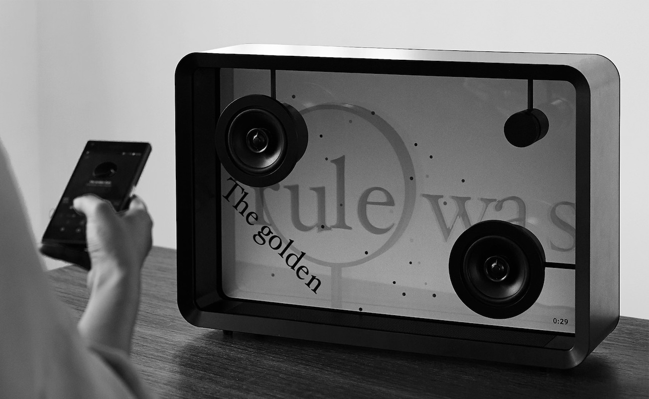 COTODAMA Lyric In-Sync Display Speaker