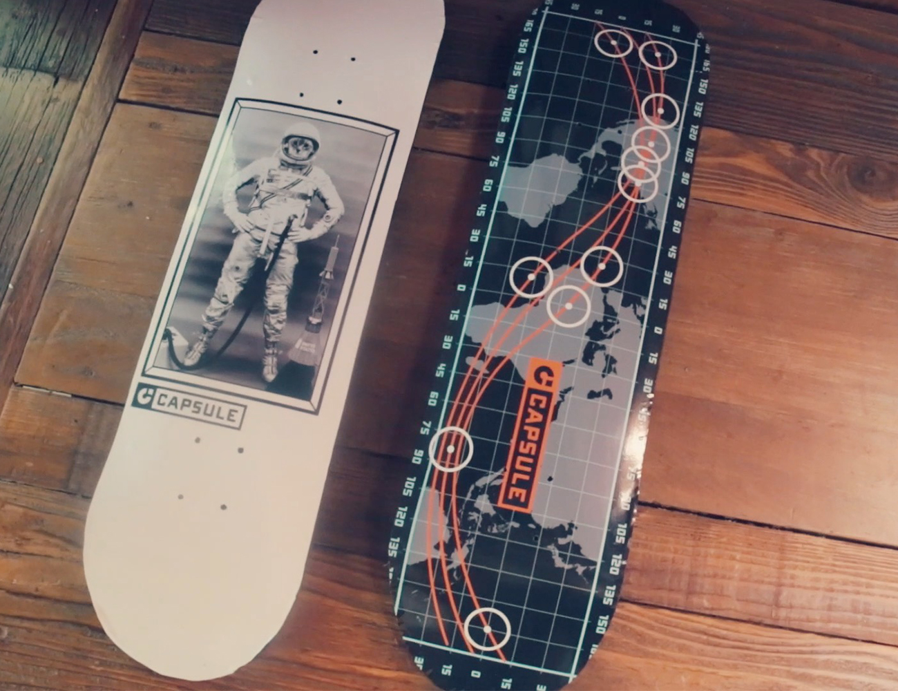 Capsule Eco-Friendly Unbreakable Skateboards and Longboards
