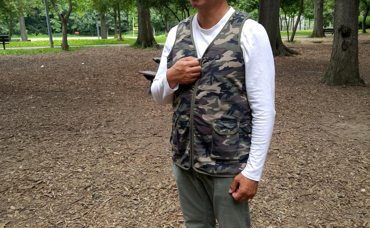 Chi Vest Adjustable Heat Wearable