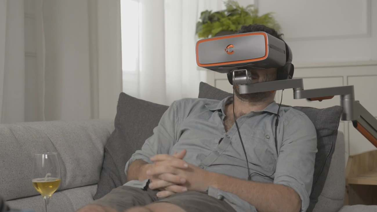 Cinera Immersive Personal Theater Headset