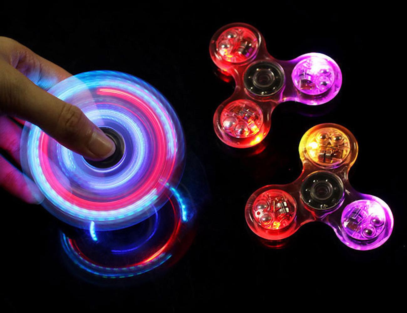 Crystal LED Fidgeting Toy