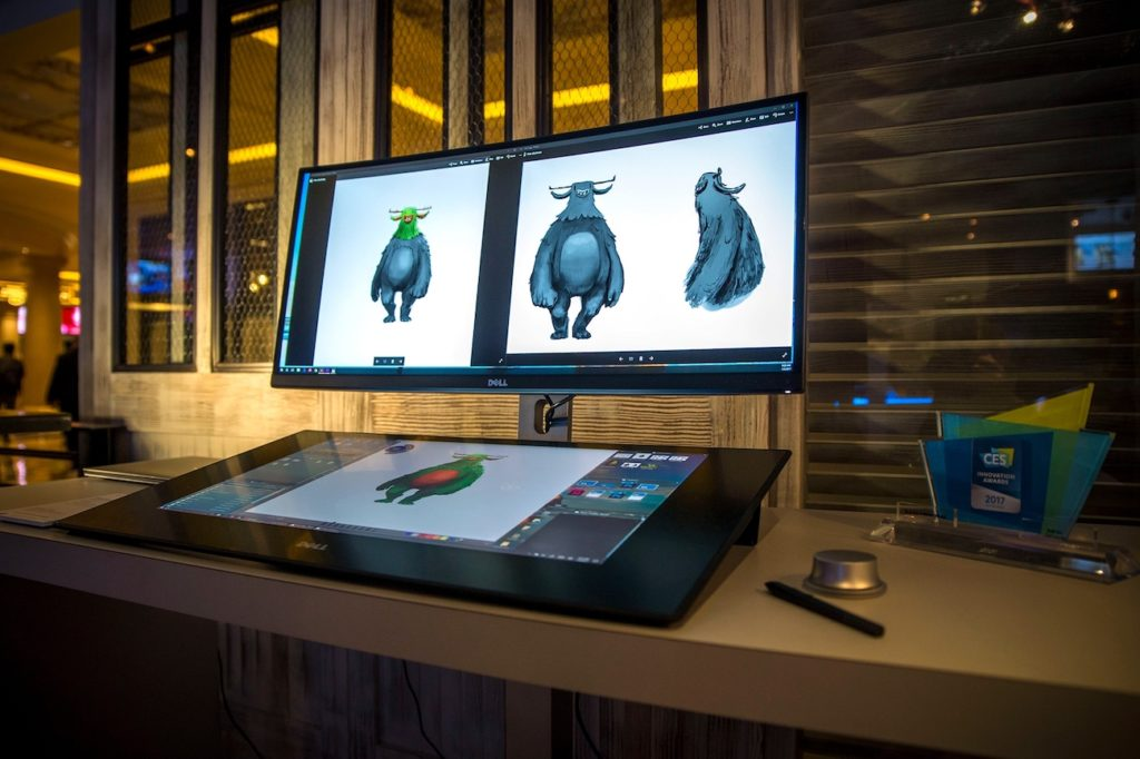 Dell Canvas 27 Creative Digital Workspace