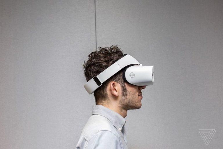 Dell+Visor+Wearable+VR+Headset