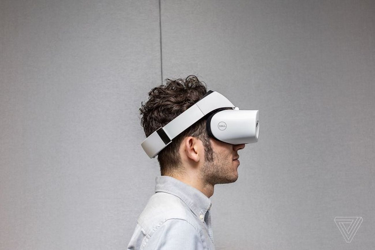Dell+Visor+Wearable+VR+Headset