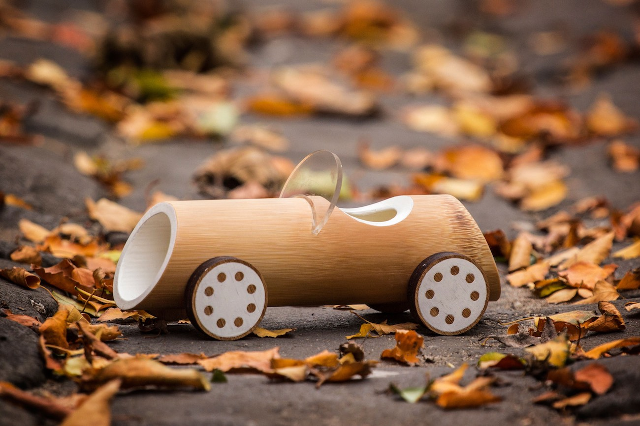 Eco-Friendly Bamboo Toy Cars