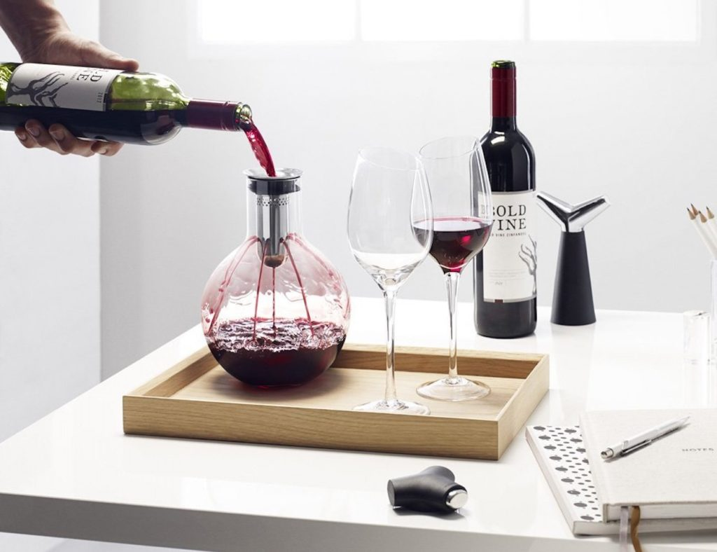 Eva+Solo+Aerating+Glass+Wine+Decanter
