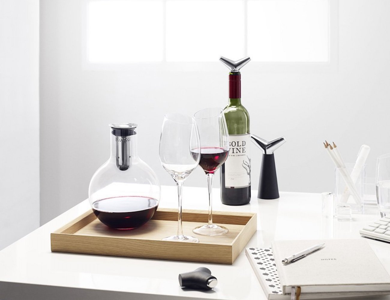 Eva Solo Aerating Glass Wine Decanter