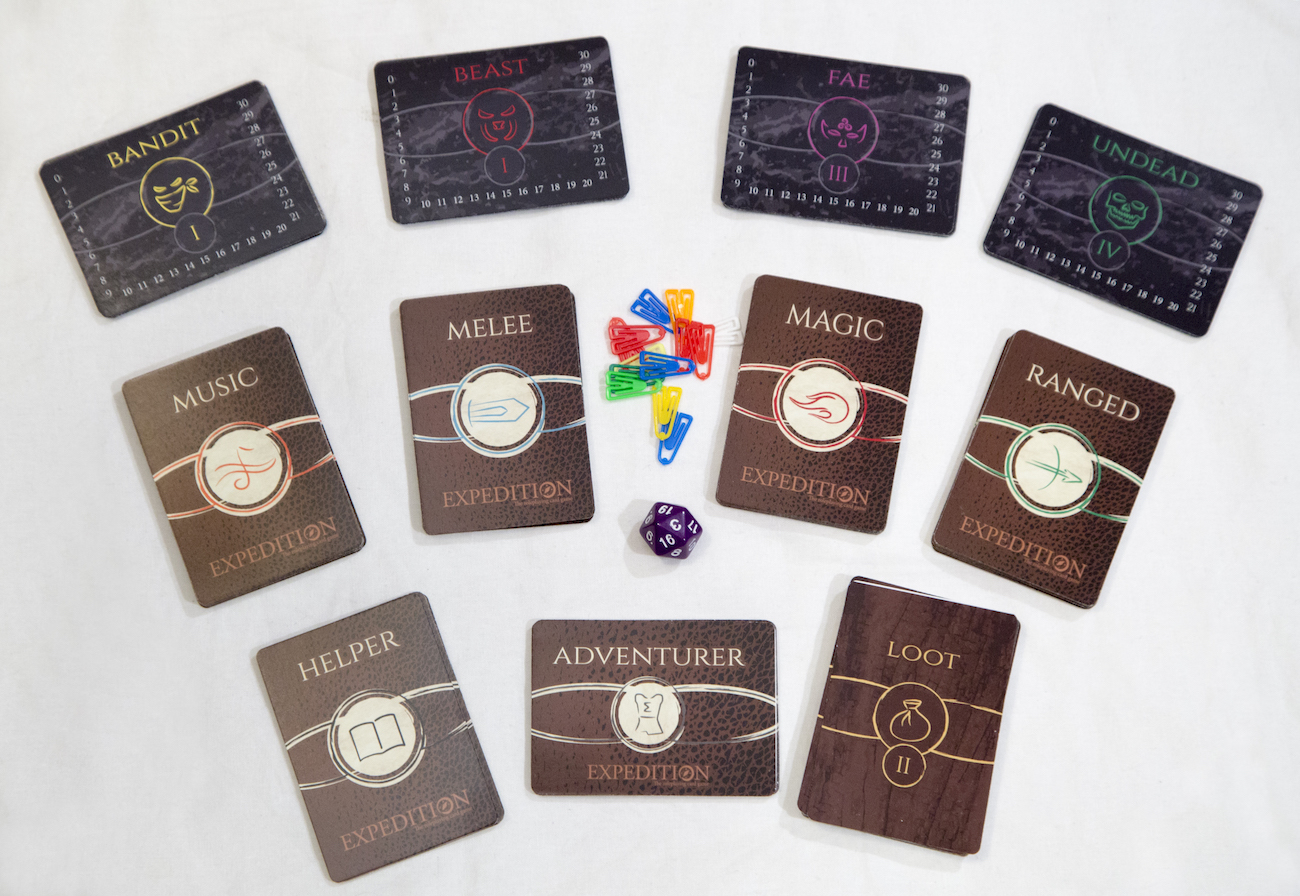 Expedition Roleplaying Card Game