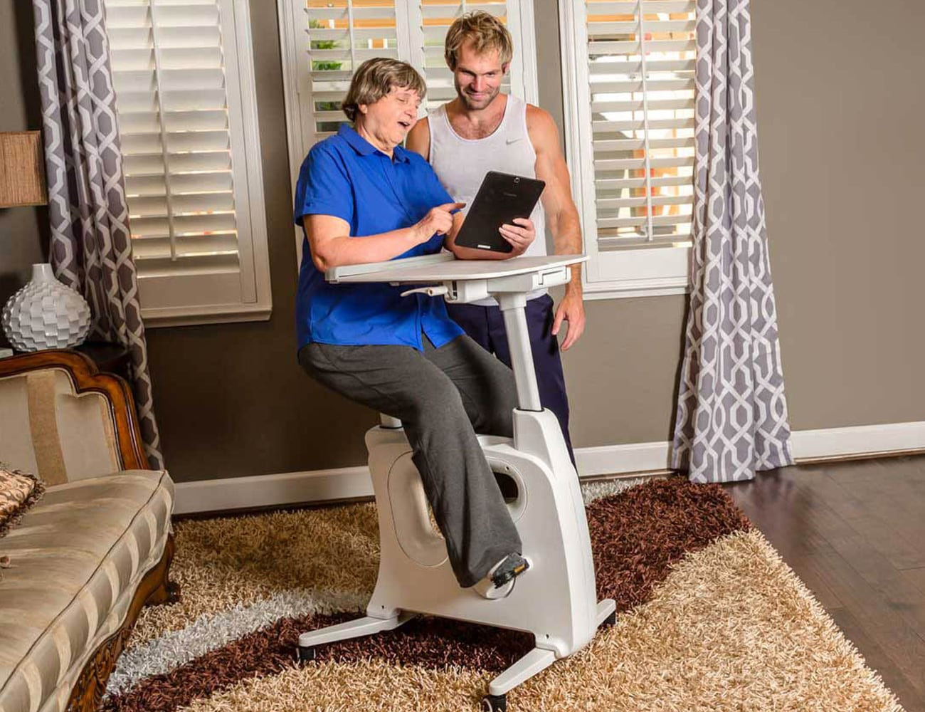 FlexiSpot Deskcise Pro Cycle Desk