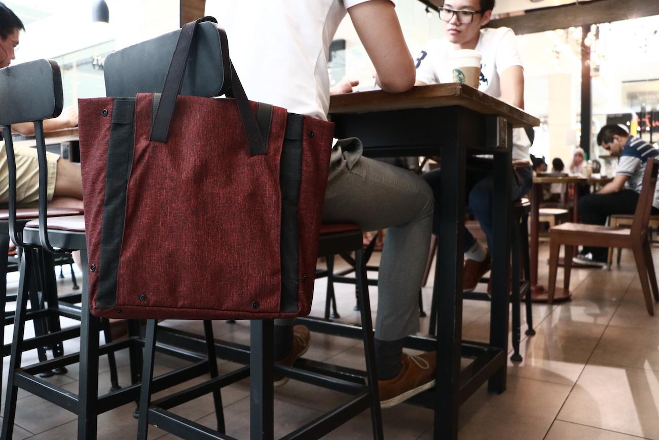 Foldr Transformable Everyday Bag