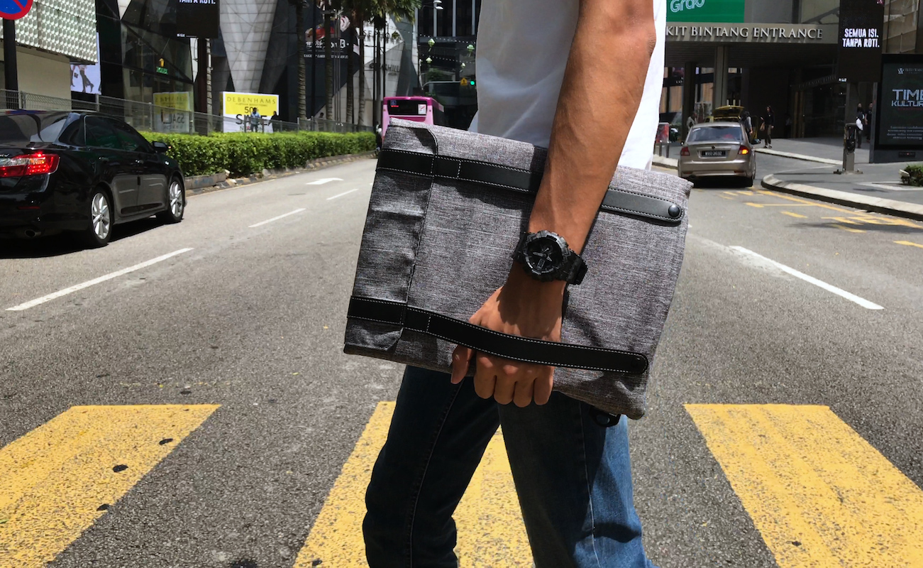 Foldr Transformable Everyday Bag