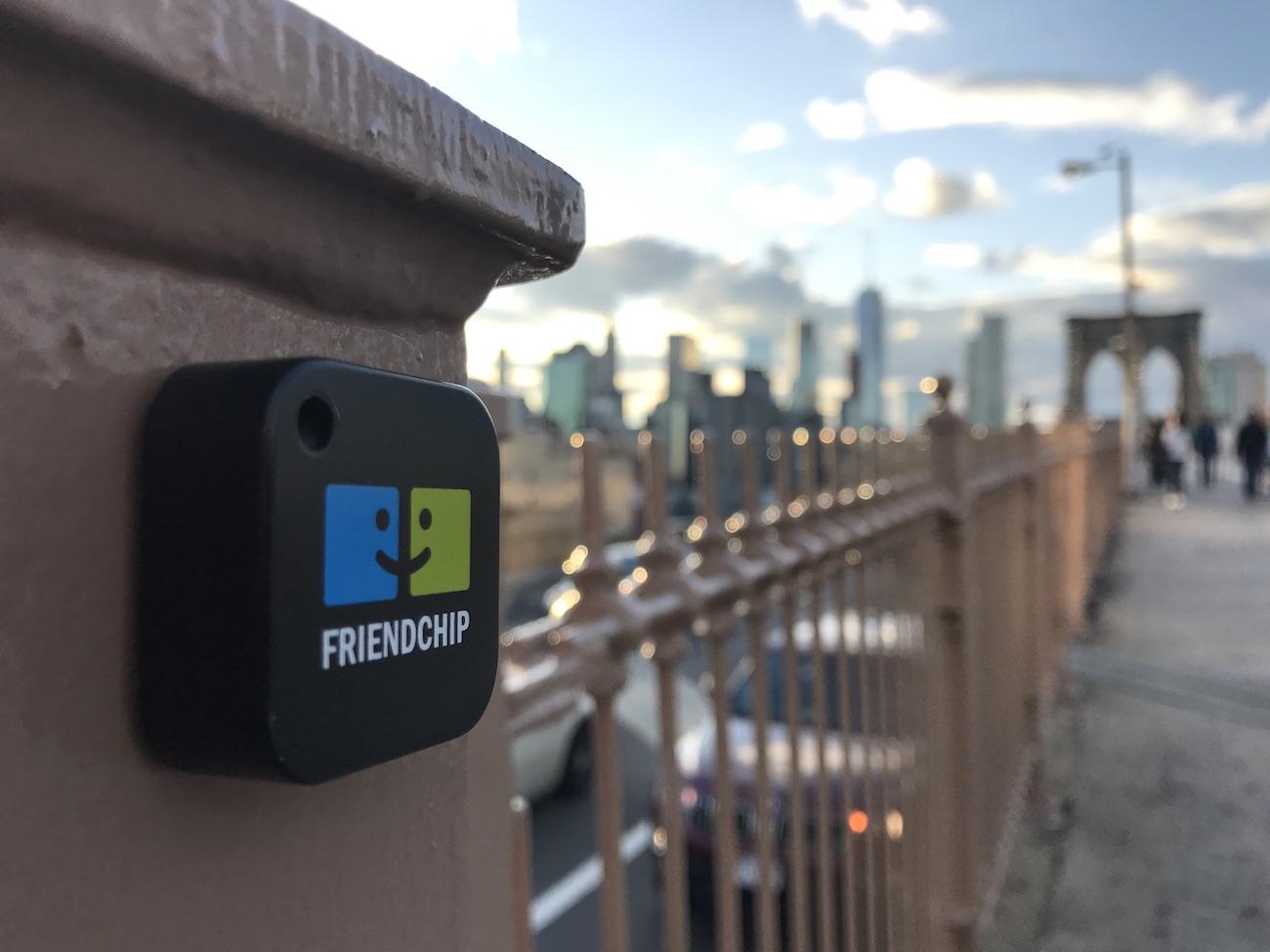 FriendChip Zero-Configuration Bluetooth Beacon